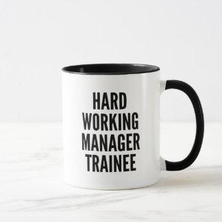 Hard Working Manager Trainee Mug