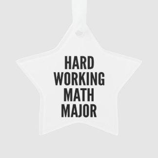 Hard Working Math Major