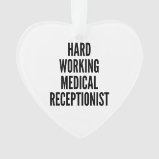 Hard Working Medical Receptionist