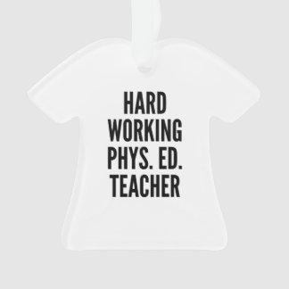 Hard Working Physical Education Teacher