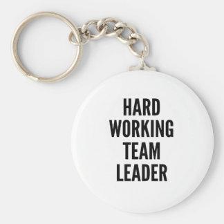 Hard Working Team Leader Key Ring