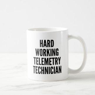 Hard Working Telemetry Technician Coffee Mug
