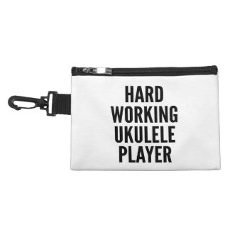 Hard Working Ukulele Player Accessory Bag