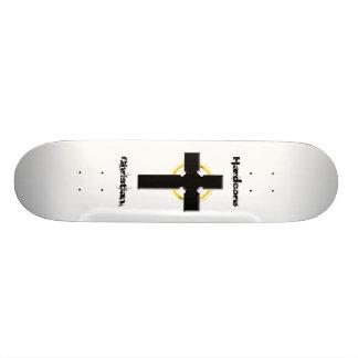 Hardcore Christian Celtic Cross Skate Deck