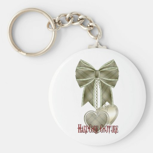 * HardCore Couture - Bow Keychains