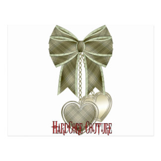 * HardCore Couture - Bow Postcard