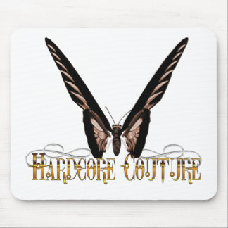 HardCore Couture Butterfly 2 Brown Mouse Pad