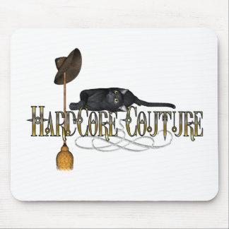 Hardcore Couture Cat Broom Design Mousepad