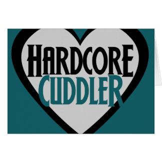 Hardcore Cuddler Greeting Cards