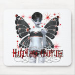 Hardcore Gothic Couture Fairy Mouse Pad