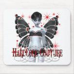 Hardcore Gothic Couture Fairy Mousepad