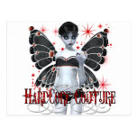 Hardcore Gothic Couture Fairy Postcard