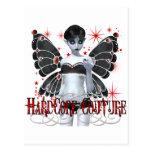 Hardcore Gothic Couture Fairy Postcards