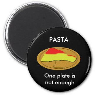 Hardcore Pasta Fan 6 Cm Round Magnet