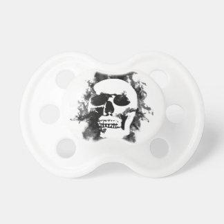 Hardcore skull pacifier