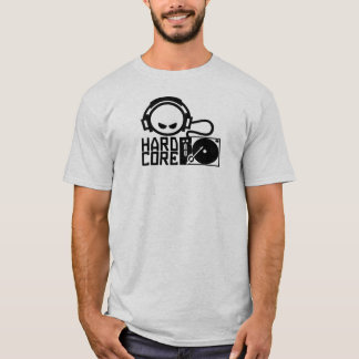 Hardcore Smilie Dj T-Shirt