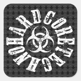 Hardcore Techno - Sticker