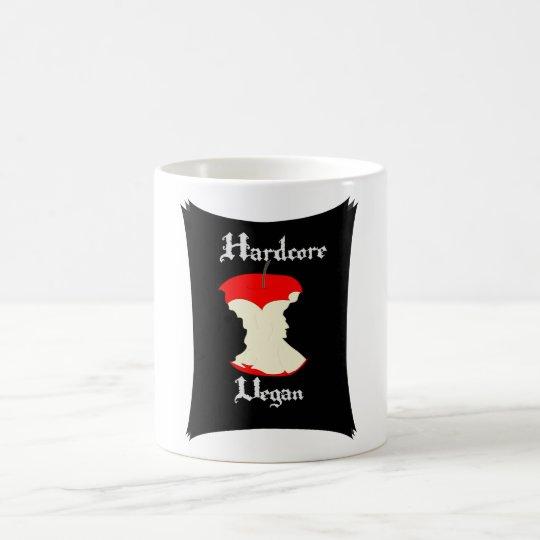 Hardcore Vegan Apple Design Coffee Mug
