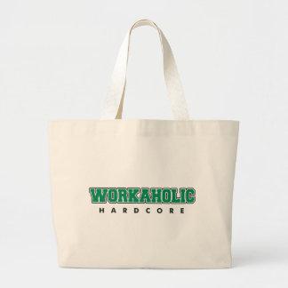 Hardcore Workaholic Jumbo Tote Bag