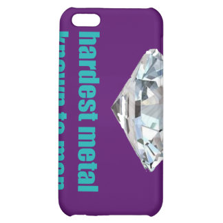 Hardest Metal Known To Man purple iPhone 5C Covers