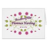 Harding ~ Florence Harding / Famous USA Women Card