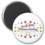 Harding ~ Florence Harding / Famous USA Women Refrigerator Magnet