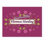 Harding ~ Florence Harding / Famous USA Women Post Card