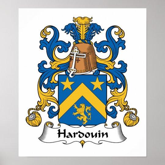 Hardouin Family Crest Poster
