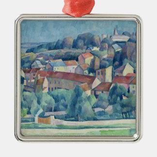 Hardricourt Village and Castle Christmas Ornament