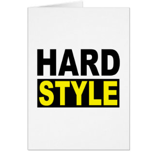 Hardstyle Card