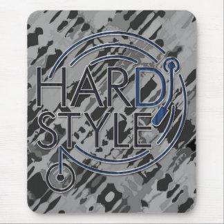 HARDSTYLE DJ - metal design Mouse Pad