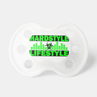 Hardstyle Lifestyle hazzard and tempo design Pacifier