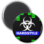 Hardstyle pattern magnets