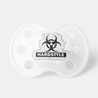 Hardstyle Wall Smash Design Baby Pacifiers