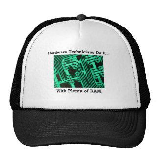 Hardware Technicians Do It... With Plenty of RAM Hats