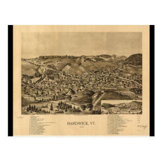 Hardwick Vermont in 1892 Postcards