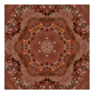 Hardwood Hill Kaleidoscope Poster