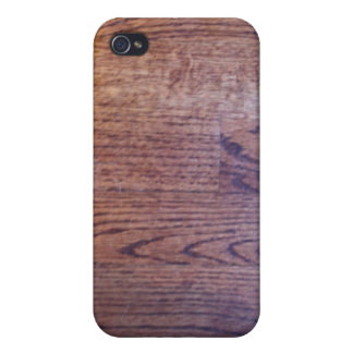 Hardwood Wood Texture Case Covers For iPhone 4
