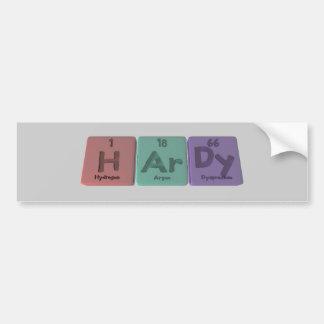 Hardy-H-Ar-Dy-Hydrogen-Argon-Dysprosium.png Bumper Stickers