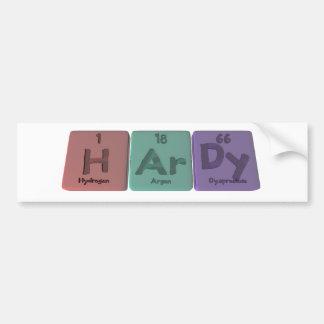 Hardy-H-Ar-Dy-Hydrogen-Argon-Dysprosium.png Bumper Sticker