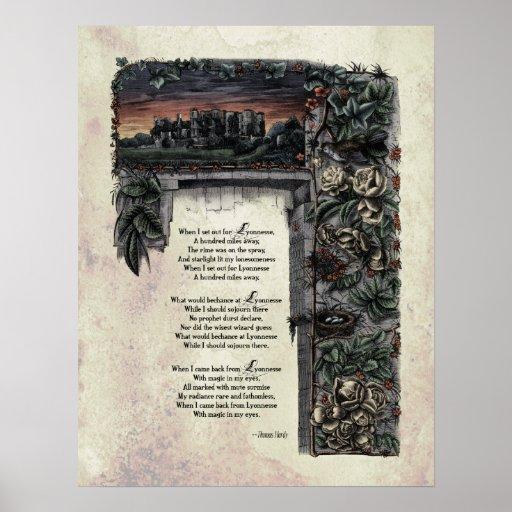 "Hardy ""Lyonnesse"" Victorian Art Poster"