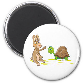 Hare and Tortoise Magnets