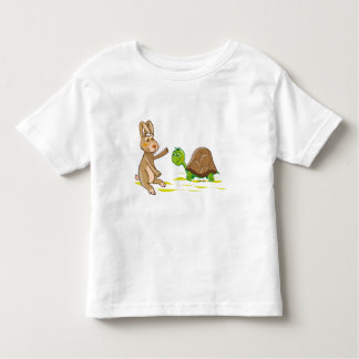 Hare and Tortoise Toddler T-Shirt
