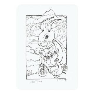 Hare Brained I 13 Cm X 18 Cm Invitation Card