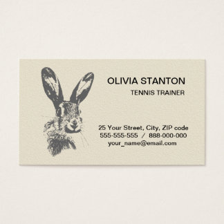 Hare Business Card