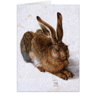"""""""Hare"""" by Albrecht Dürer, 1502 Card"""