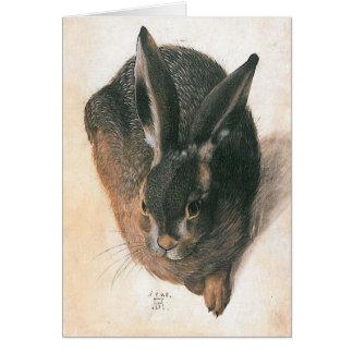 Hare by Albrecht Durer Card
