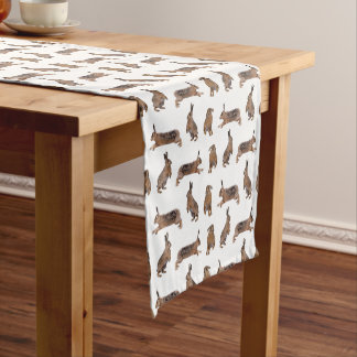 Hare Frenzy Table Runner (choose colour)
