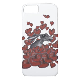 HARE IN HEARTS h3310 iPhone 8/7 Case