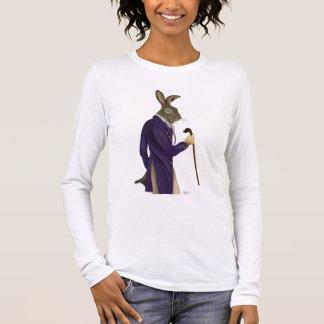 Hare In Purple Coat 2 Long Sleeve T-Shirt